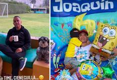 Roberto Martínez comparte tiernas fotos por el cumpleaños de su hijo