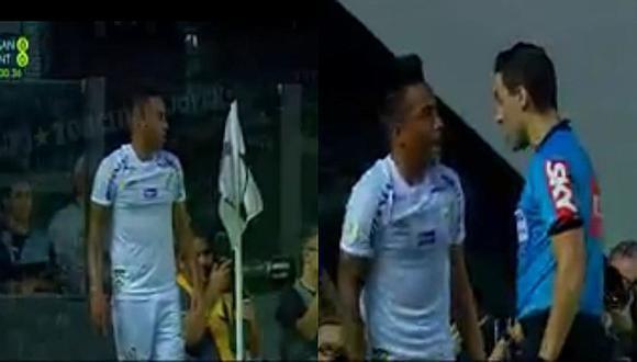 Christian Cueva hizo tremendo blooper tras intentar ejecutar tiro de esquina ante Inter de Porto Alegre   VIDEO
