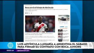 Luis Advíncula llegaría este fin de semana a Argentina