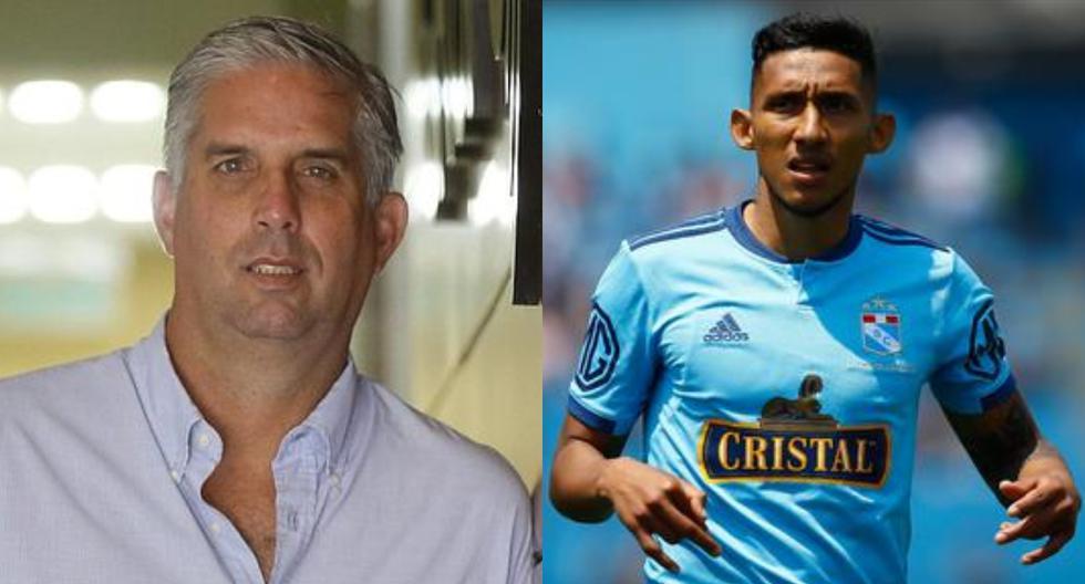 """Rebagliati sobre Christofer Gonzales: """"Si Gareca lo evaluara por lo que hace Cristal, no tendría minutos en la selección"""""""