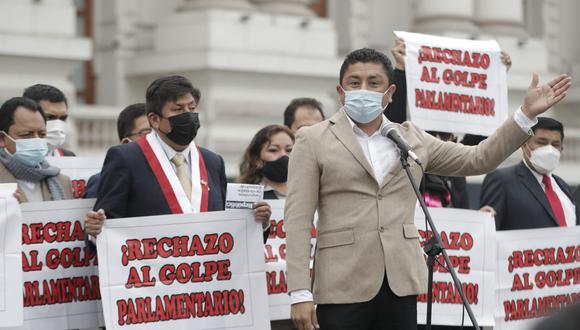 El congresista confirmó que el gobierno de Pedro Castillo viene siendo exitoso. Foto: Renzo Salazar / @photo.gec