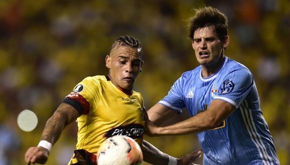 Sporting Cristal buscará revertir el 0-4 del partido de ida frente al Barcelona de Ecuador | Foto: AFP