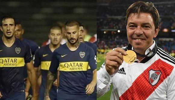 Marcelo Gallardo se burla de Boca Juniors tras reclamo en el TAS