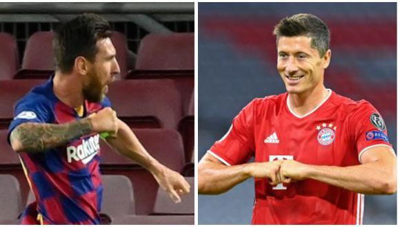 Barcelona y Bayern Múnich se jugarán el pase a semifinales de la Champions League. (Foto: AFP)