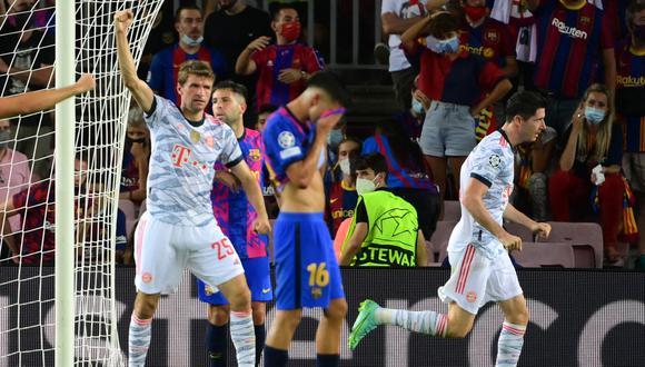 Barcelona y Bayern Múnich se enfrentaron en el partido corresponde a la primera fecha de la fase de grupos de la Champions League.   Foto: AFP.