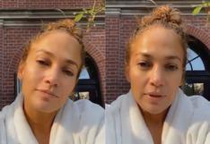 """Jennifer Lopez alista nuevo proyecto: """"No he podido dormir"""""""