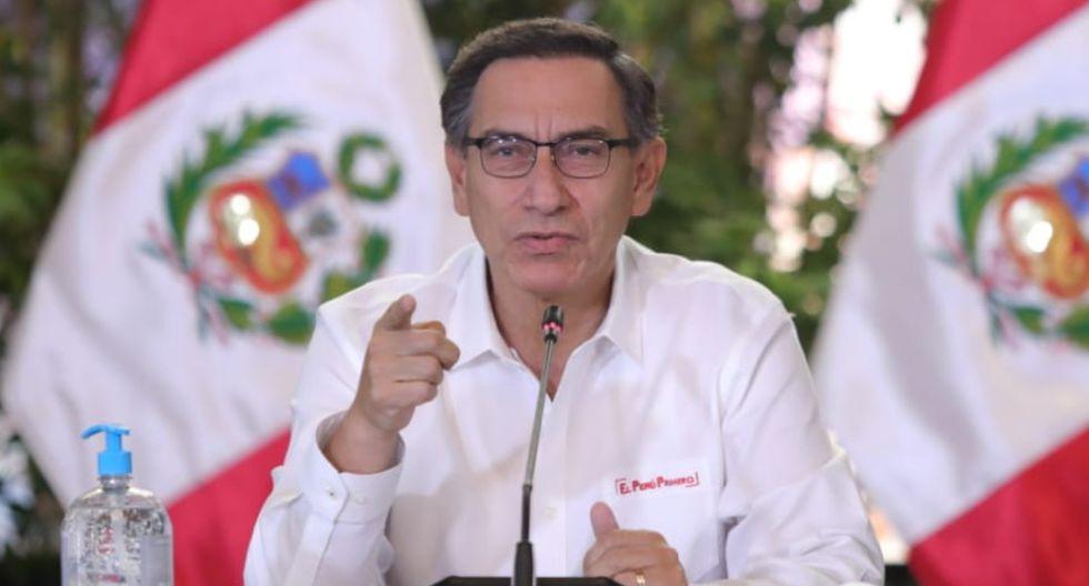 Sigue EN VIVO la conferencia de Martín Vizcarra HOY lunes 13 de ...
