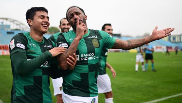 Jefferson farfán no jugaba un partido en Alianza Lima desde el 17 de mayo pasado. (Foto: Liga de Fútbol Profesional)