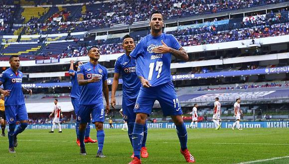 Con asistencia de Yotún, Cruz Azul goleó 4-1 a Lobos BUAP de Duarte y Da Silva