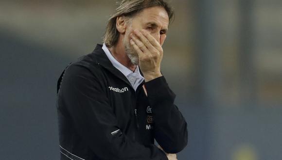 La continuidad del entrenador de la selección peruana depende del resultado ante Ecuador por Eliminatorias. (Foto: AFP)