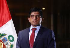 Juan Carrasco Millones es designado como nuevo ministro del Interior