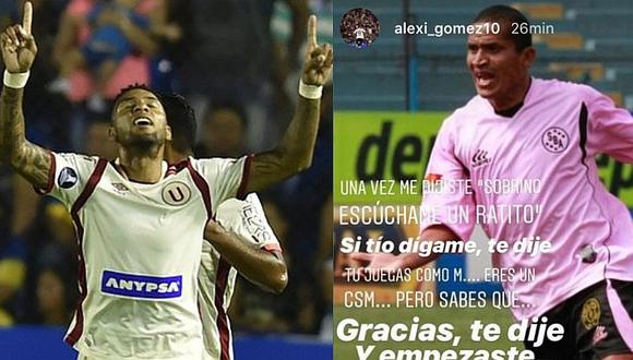 Alexi Gómez revela consejo de 'Kukín' Flores para ser un mejor '10'
