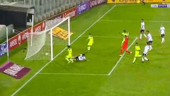 Facundo Pellistri abrió el marcador a los 39 minutos del primer tiempo para el conjunto visitante