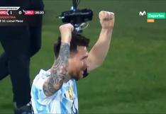Argentina vs. Uruguay: Lionel Messi marcó el 1-0 con algo de fortuna en el partido de las Eliminatorias   VIDEO