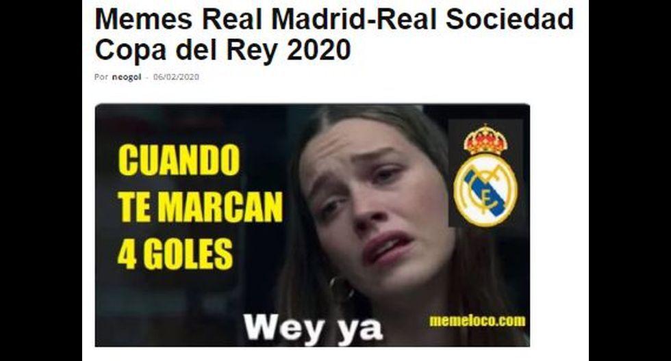 Los mejores memes de la eliminación de Real Madrid a manos de Real Sociedad en la Copa del Rey. (Foto: Facebook)