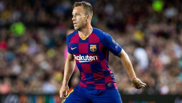 Arthur Melo fichó por el FC Barcelona a mediados del 2018. (Foto: FC Barcelona)