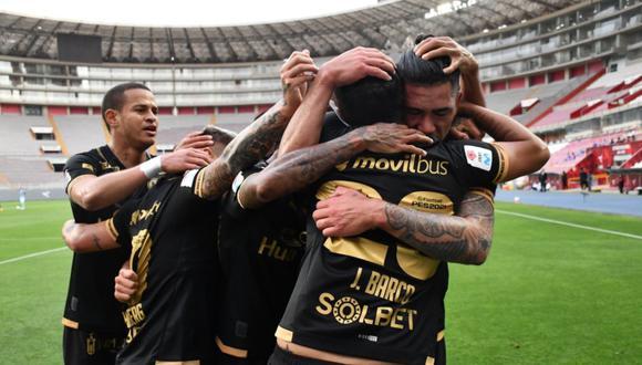 Universitario de Deportes aún tiene chances de clasificar de forma directa a la final pero no depende de sí mismo | Foto: Liga 1