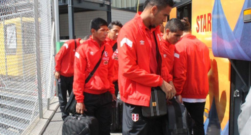 Selección peruana llegó a Suiza para su segundo amistoso en Europa
