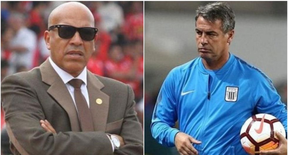 Alianza Lima | Bengoechea y Mosquera sostendrán un duelo de pizarrón