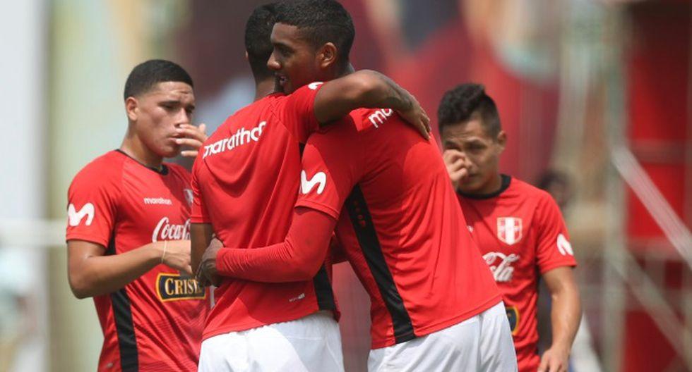 Selección peruana sub 23 celebra antes del viaje a Colombia para Preolímpico | Foto: ESPN