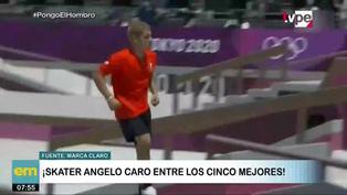 Angelo Caro: peruano se metío entre los 5 mejores skaters de Tokio 2020