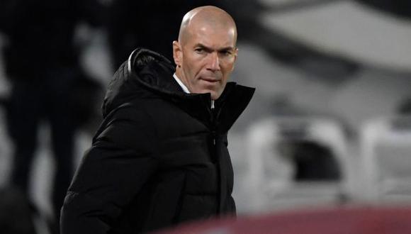 Zidane tiene contrato con Real Madrid hasta junio del 2022. (Foto: AFP)
