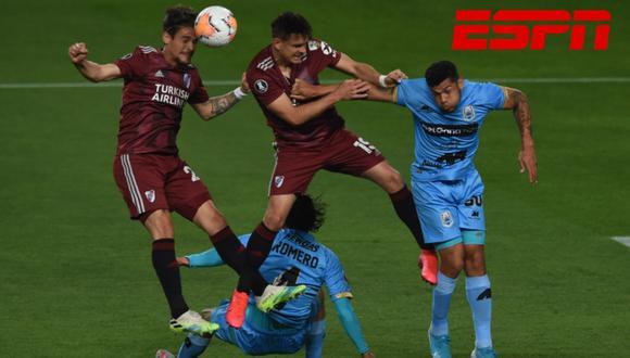 Vía ESPN 2 en vivo, River vs Binacional por la Copa Libertadores