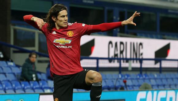 Edinson Cavani fichó por Manchester United en la temporada 2020/2021. (Foto: AFP)