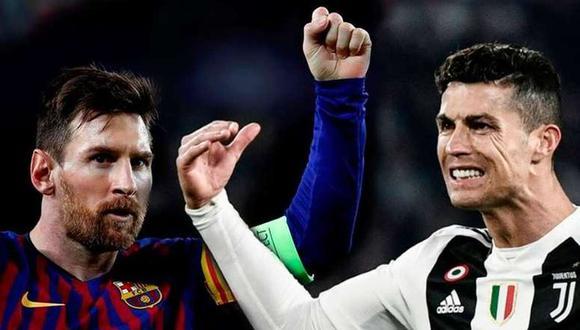 Cristiano Ronaldo y Lionel Messi se enfrentarán en la Champions League. (Fotos: EFE - AFP)