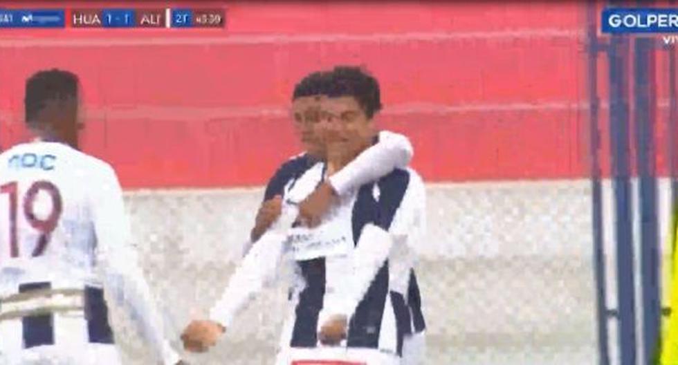 Alianza Lima vs. Sport Huancayo: Carlos Beltrán anota de cabeza y pone el 1-1 en el Iván Elias Moreno | VIDEO