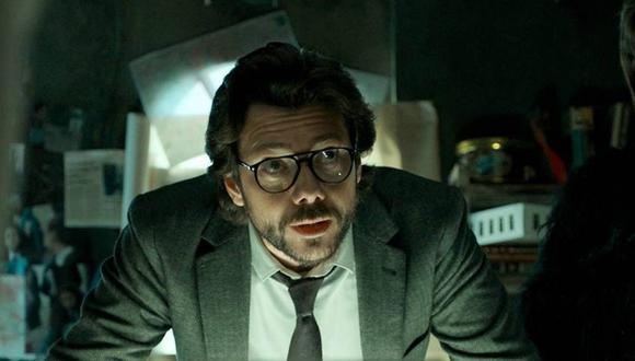 """Álvaro Morte asegura tener """"muchísimos proyectos"""" gracias al Profesor, su personaje en """"La casa de papel"""". (Foto: Netflix)"""