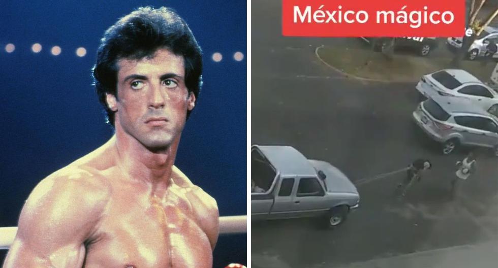 'Rocky Balboa mexicano': un joven boxeador es captado entrenando de una forma durísima