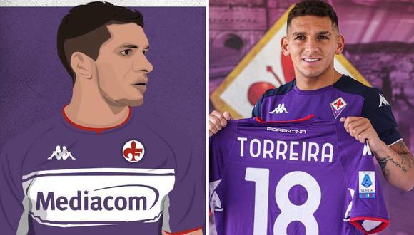 Lucas Torreira es nuevo jugador de la Fiorentina de Italia. (Foto: Fiorentina)