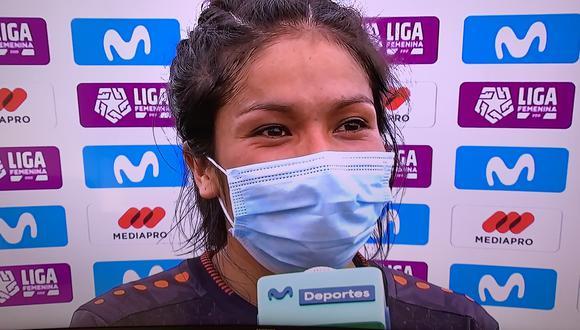 """Futbolista de Ayacucho FC fue bautizada como el """"Rayo"""" del fútbol femenino."""