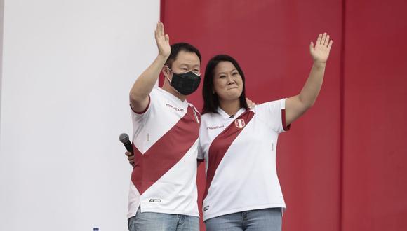 """Kenji Fujimori explicó en """"modo gamer"""" el peligro que significaría que Pedro Castillo llegue a la Presidencia. (Fotos: Jessica Vicente/@photo.gec)"""