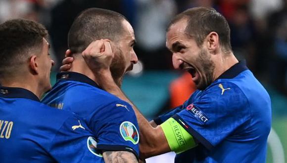 Italia se coronó campeón de la Eurocopa tras vencer (3-2) en penales a Inglaterra. (Foto: AFP)