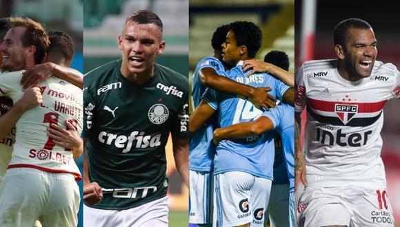 Universitario y Sporting Cristal jugarán contra Palmeiras y Sao Paulo, respectivamente. (Foto: GEC)