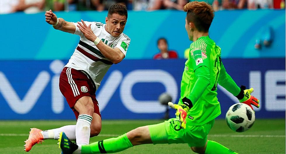 México vs. Corea: Chicharito Hernández marcó golazo del triunfo