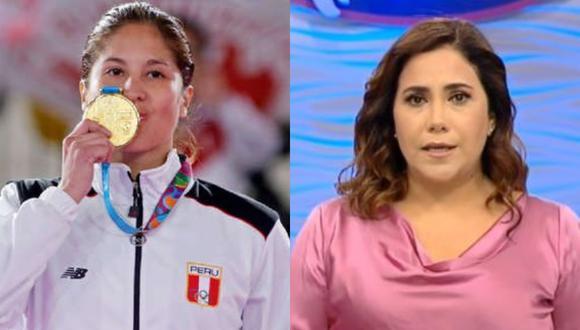 La atleta pidió al canal que transmitan en vivo los Juegos Olímpicos.