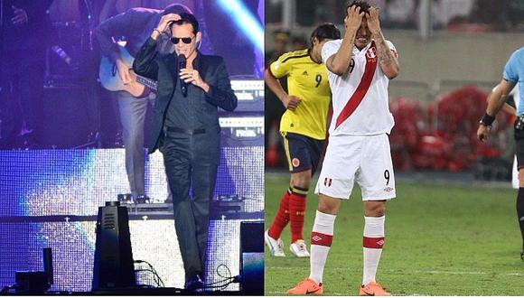 Selección peruana: Concierto de Marc Anthony y Vives va en Nacional