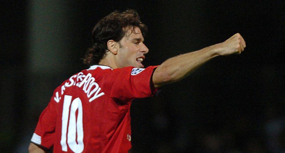 Van Nistelrooy estaba valorizado 42,7 en millones de dólares. (Foto: AFP)
