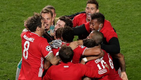 Kingsley Coman le da la victoria al Bayern Múnich en la final de la UEFA Champions League