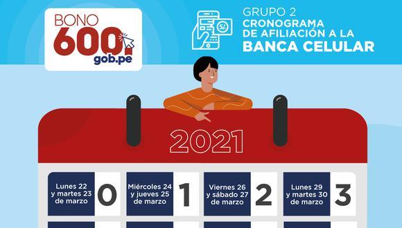 El Bono 600 se sigue pagando en todas las regiones del Perú y aquí te informamos el link oficial, cronograma de pagos y cómo afiliarte a la banca celular