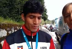 Entrenador peruano de atletismo sufre maltrato en vivo durante entrevista | VIDEO