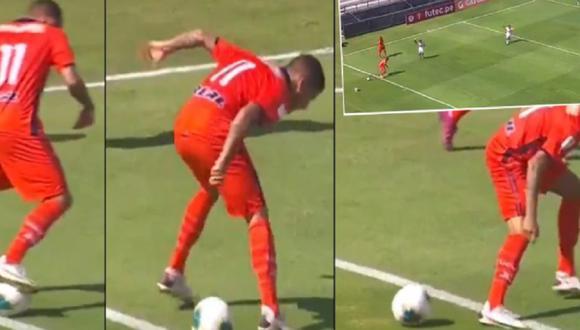Los hinchas le pegaron con todo a Beto Da Silva luego de que no pudiera parar un balón.