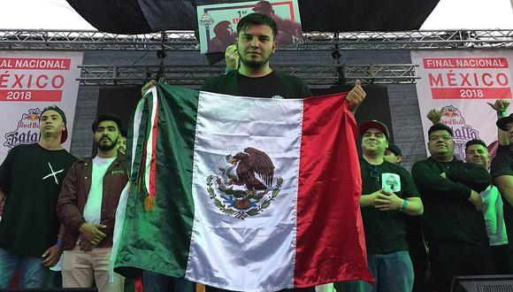 Rapder campeón Nacional Red Bull Batalla de los Gallos México 2018