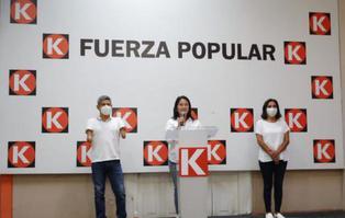 """Keiko Fujimori: """"Yo propongo una economía social de mercado, no el marxismo, ni el comunismo"""""""