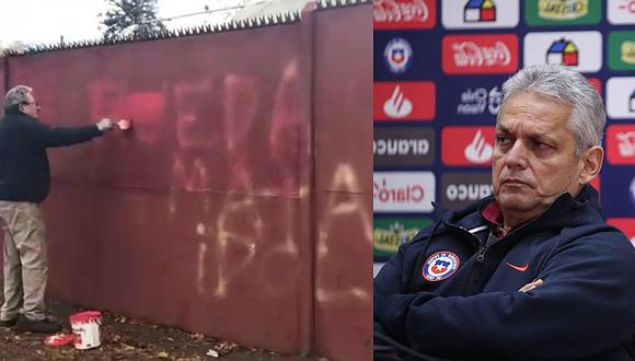 Selección de Chile: aparecen pintas contra Reinaldo Rueda tras convocatoria a la Copa América 2019