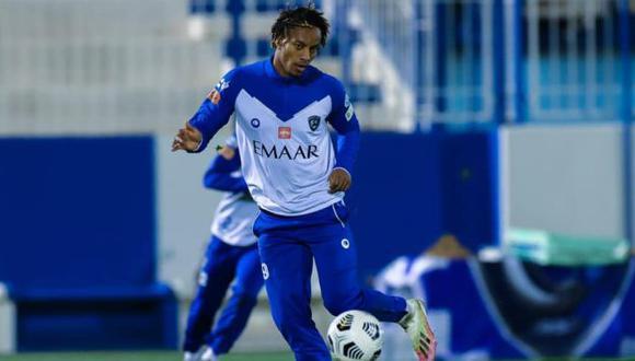 André Carrillo tiene contrato con Al Hilal hasta junio del 2023. (Foto: Al Hilal)