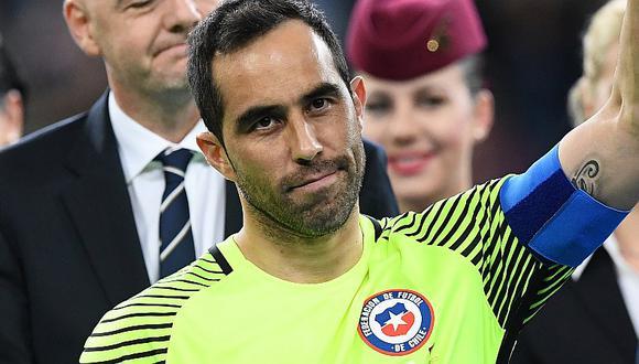 Selección de Chile: Claudio Bravo vuelve a la 'Roja' pese a la bronca con Arturo Vidal   FOTO